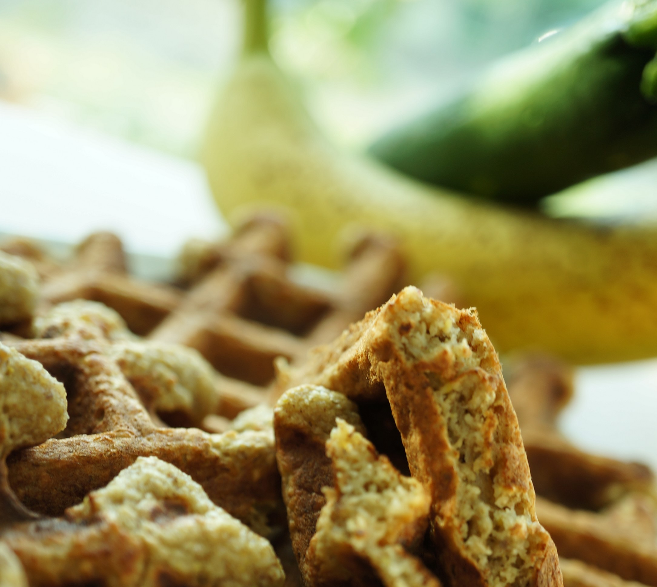 Any Day Oatmeal Banana Waffles